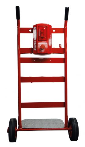 Double Fire Extinguisher Trolley With Push Button Alarm 81/03512