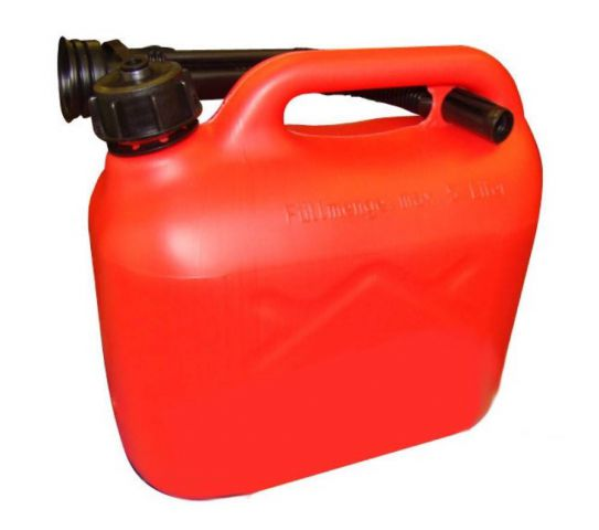 5 Litre Red Plastic Fuel Can 8304005