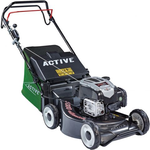 Active 50cm (19 Inch Cut) Briggs & Stratton Engine Self Propelled Alloy Deck Mower ACT5000SB