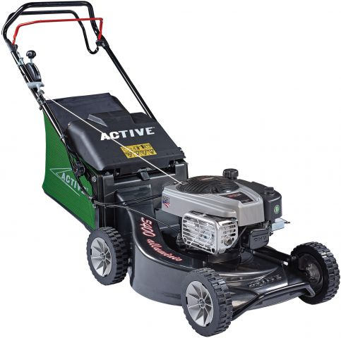 Active 53cm (21 Inch) Briggs & Stratton Engine Self Propelled Alloy Deck Mower ACT5400SB