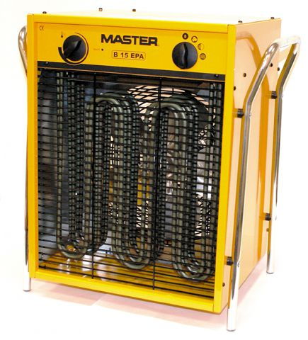 Master 415 Volt 15 kW 32 Amp 5 Pin Electric Fan Heater B15EPB