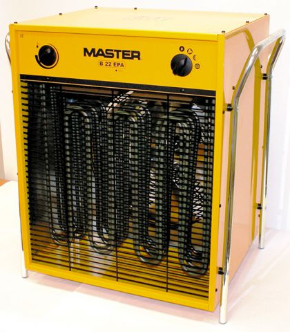 Master 415 Volt 22 kW 32 Amp 5 Pin Electric Fan Heater B22EPB