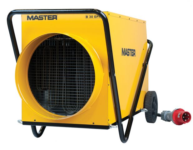 Master 415 Volt 30 kW 63 Amp 5 pin Electric Fan Heater B30EPR