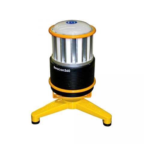 Beacon 360 Rechargeable LED Beacon with Heavy Duty Floorstand BEACON360FS