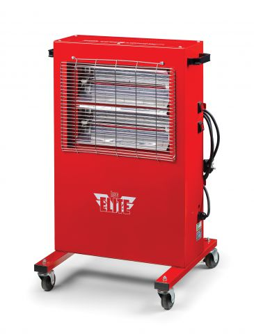 Elite Heat 240 Volt 2.4 kW Quartz Halogen Infra-Red Heaters EH2402400W