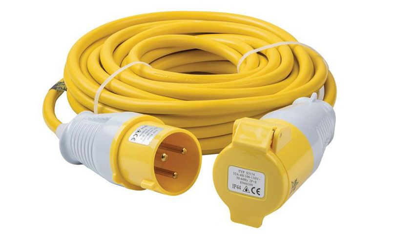 Elite 110 Volt 14 Metre Extension Lead EXL14M110