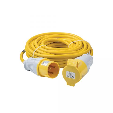 Elite 110 Volt 25 Metre Extension Lead EXL25M11025