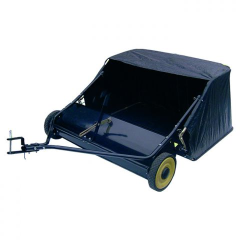 Garden Pride 95cm (38 Inch) Wide Towed Sweeper Collector GP38TS
