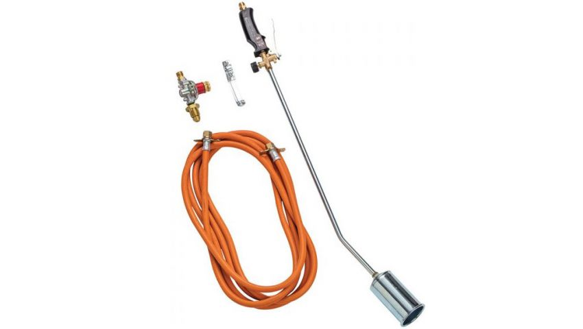 600mm Single Head Gas Torch With Regulator GT600S