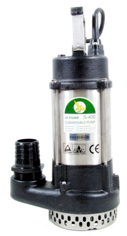 JS Pump 240 Volt 2 Inch (50mm) Submersible Drainage Pump Manual Float Switch JS400240M