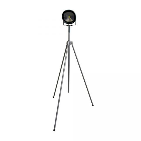 Elite 110 Volt LED 50 Watt Single Head Site Light With Tripod Stand LED50WSLTP