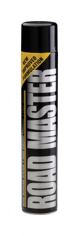 Elite Black 750ml Aerosal Line Marker Paint LMSPBLK