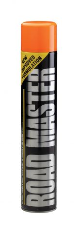 Elite Orange 750ml Aerosal Line Marker Paint LMSPO