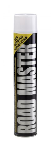 Elite White 750ml Aerosal Line Marker Paint LMSPW