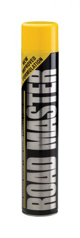 Elite Yellow 750ml Aerosal Line Marker Paint LMSPY