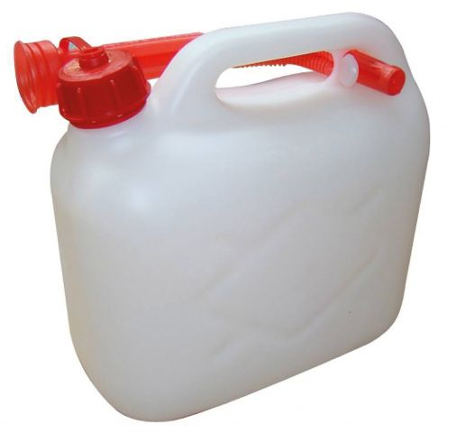 5 Litre Clear Plastic Fuel Can MPMD4789
