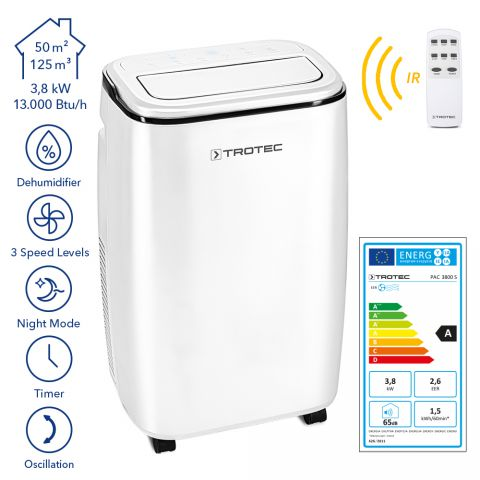 Trotec 240 Volt Portable Commercial Air Conditioner PAC3800S