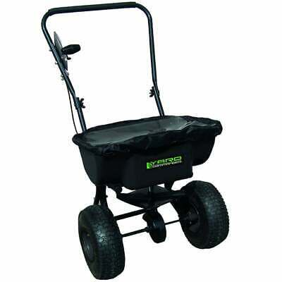 Push Lawn Garden Fertiliser Seed Spreader 18 Litre FREE Rain Cover GP18PSB