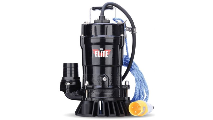 Elite 110 Volt 2 Inch (50mm) Dirty Water Submersible Pump SPT500