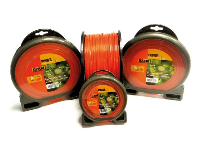 Ozaki 2.4mm 34 Metre Square Nylon Strimmer Line 1512613