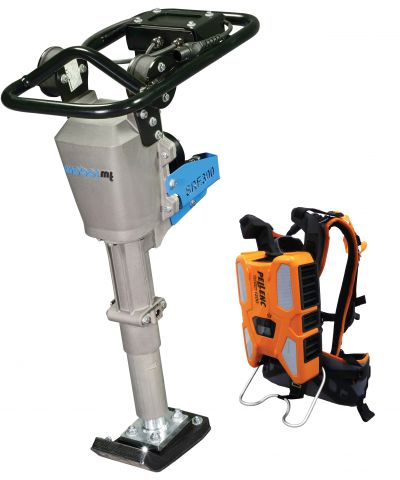Weber Lithium-ion Battery Trench Rammer SRE300